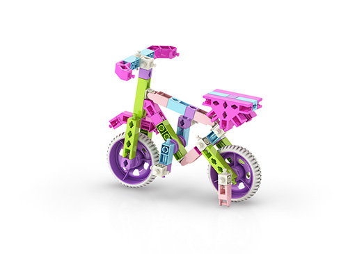 اسباب بازی دخترانه انجینو برای مهندسان کوچک