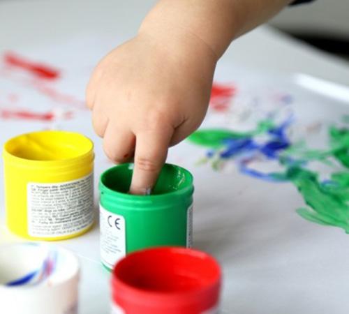 فواید نقاشی انگشتی برای کودکان