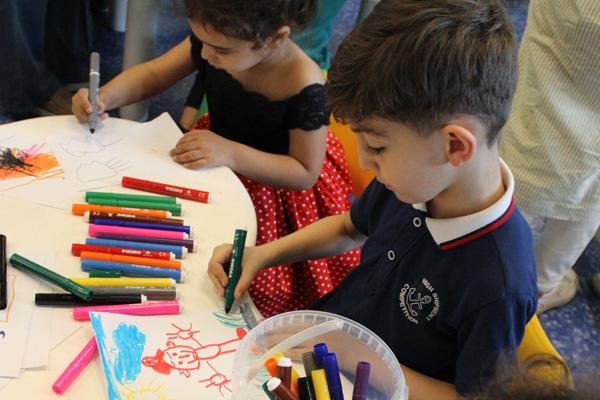 نقاشی با ماژیک